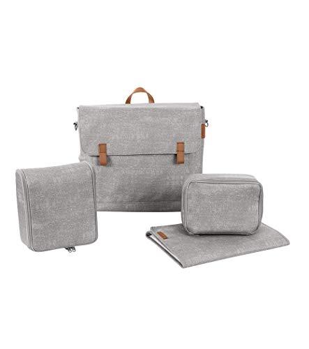 Maxi-Cosi 1632712110 Modern Bag - praktische Wickeltasche mit vielen extras, Thermobox, Wickelunterlage, grau