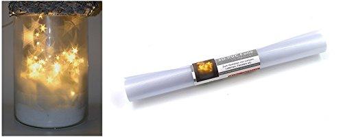 3D PVC Folie Sternfolie 30x50cm Lichteffekte Sterne Effekt Fensterfolie