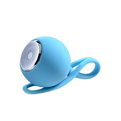 WOHAO Medios Dispositivo de Streaming Impermeable Bluetooth Mini Altavoz de Silicona a...