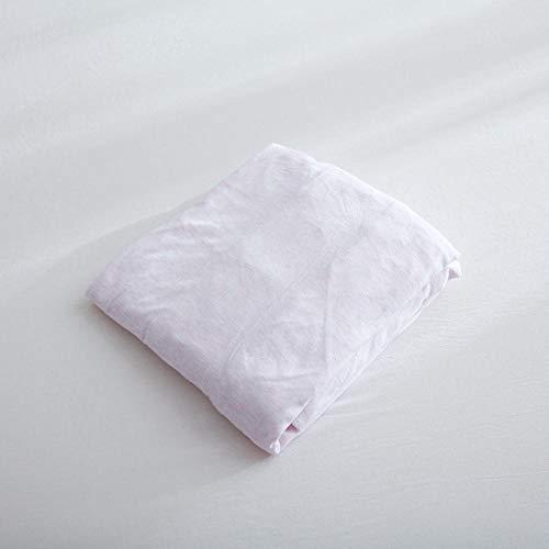 LCFCYY Sábana Bajera elástica de,Sábanas de algodón Suaves y cómodas,Protector de colchón para niños y niñas,Dormitorio,habitación en casa de Familia,Rosa 1 180 * 200cm