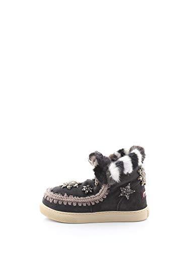 MU.FW111006A - Eskimo Sneaker Star Patches & Mink Fur Trim 37 OFFB