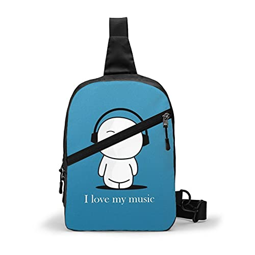Source URL Httpcreativecancomcartoon s borsa a tracolla uomo petto borsa da viaggio sport Messenger Bag zaino
