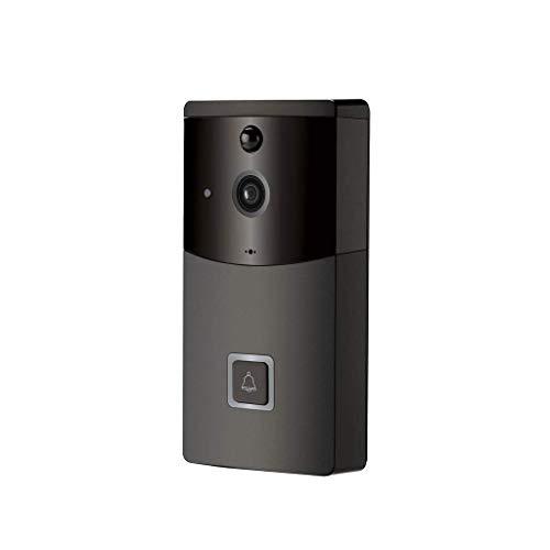 JJZXT Video Wireless Timbre de la Puerta de vídeo Inteligente Timbre con cámaras de Seguridad de vídeo en Tiempo Real y de Dos vías de conversación