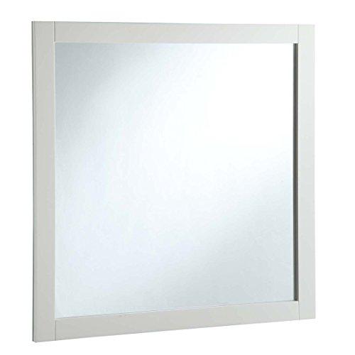 Design House Shorewood 547224 30-inch Vanity Mirror, Semi-Gloss White