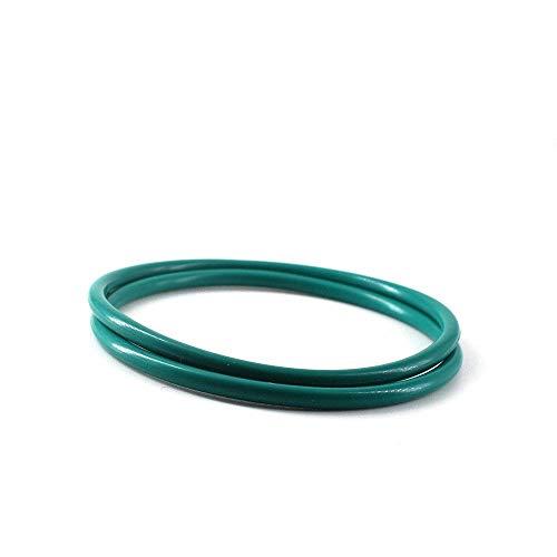 qinggw 3mm CS O Anillo de Sellado de Juntas FKM O Verde Anillo de Cierre Lavadora 8/9/10/11/28/29 / 30mm OD Aceite Resistencia O Anillo de Sellado (Color : 50pcs, tamaño : 13x7x3mm)