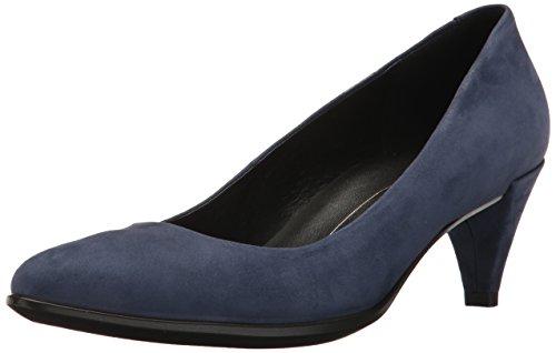 ECCO Damen Ecco Shape 45 Pointy Sleek Pumps, Blau (Blue Iris), 41 EU
