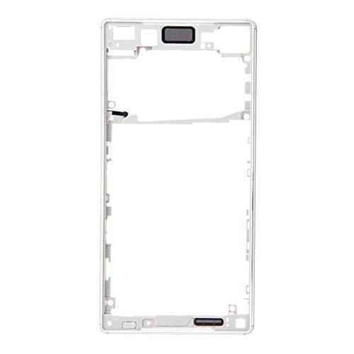 Liaoxig Sony de Repuesto Reemplazo del Bisel Frontal (Versión de Tarjeta SIM Simple)para Sony Xperia Z5 Sony de Repuesto (Color : Silver)