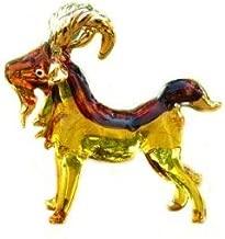 Handmade Goat Art Glass Blown Pet/Wild Animal Figurine