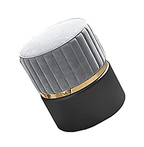 LXLAMP Pufs para Salon, Taburete bajo taburetes Bajos Madera pufs para Habitaciones Taburete Moderno del Maquillaje del Taburete del sofá de la Personalidad Creativa