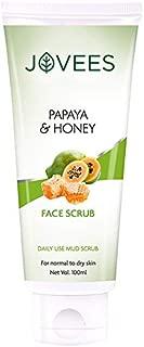 Jovees Facial Scrub, Papaya and Honey, 100 g