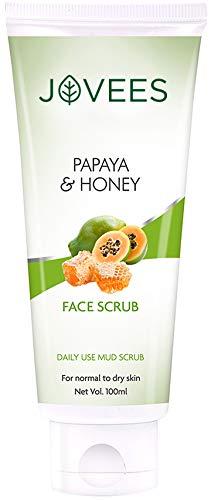 Jovees Facial Scrub - Papaya & Honey - 100gms