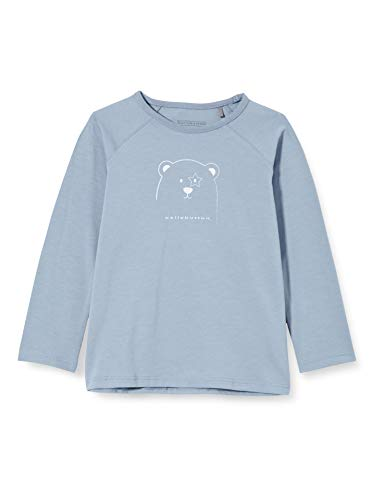 bellybutton Baby-Jungen Langarmshirt T-Shirt, Infinity|Blue, 62