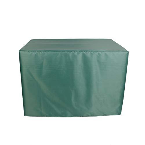 XYXH Abdeckung Für Gartenmöbel 120x70x100cm, Abdeckhaube Möbelsets, Rechteckig Wasserdichtes UV-Beständiges Atmungsaktives Oxford-Gewebe Gartenmöbel Schutzhülle 420D