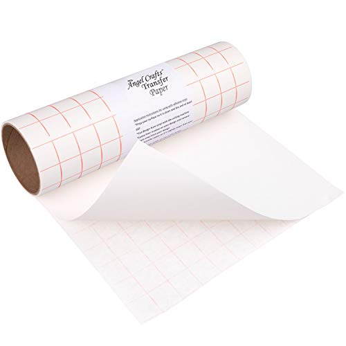 Angel Crafts Transfer Paper Tape: Craft Transfer Tape for Vinyl...