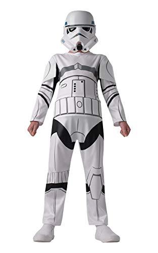 Rubie's 610485S Stormtrooper Star Wars Rebels Kostüm für Kinder, Größe:S