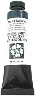 DANIEL SMITH Extra Fine Watercolor 15ml Tube, Payne's Blue-Gray
