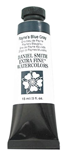 DANIEL SMITH Extra Fine Watercolor 15ml Tube, Payne's Blue-Gray