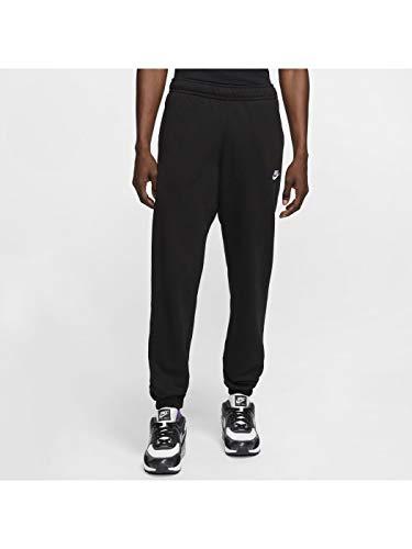 Nike Herren Sportswear Club Fleece Jogginghose, Schwarz/Schwarz/Weiss, XL