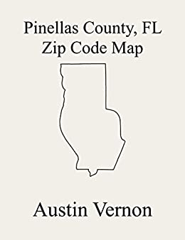 Pinellas County Florida Zip Code Map Includes Boca Ciega St