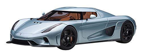AUTOart 1/18 Model Car of Koenigsegg Regera Horizon Blue Metallic 79028