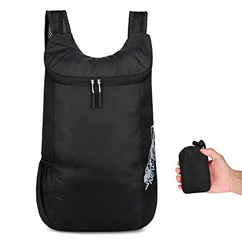 Sac à dos pliable ultra léger - Petit sac à dos de randonnée - Durable et léger - Pour homme et femme - Sport de plein air,...