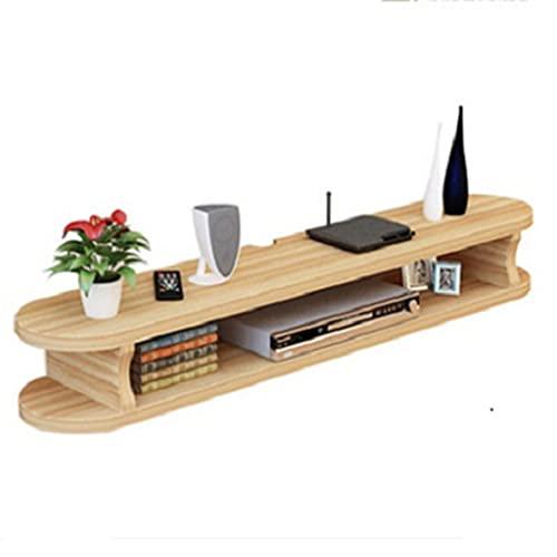Estante flotante, mueble de TV montado en la pared, estante de partición simple en la pared de TV, estante de decoración de fondo/ahorro de espacio/fuerte y duradero/A / 100cm