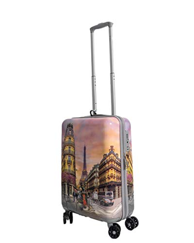 Trolley Rigido Cabina Ynot Parigi 4 Ruote TSA