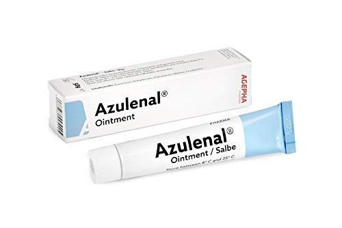 Azulenal Ointment with Guaiazulene, Multipurpose Cream for Rashes, Itching, Cuts, Burns, Wound Repairs & Sore Nipples, Suitable for use for Babies and Mothers.