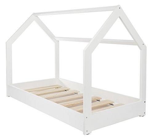 Velinda Wooden bed, Scandinavian style, modern, kids bed, home bed, 190x90cm
