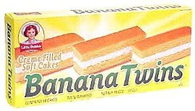 Little Debbie Banana Twins Cakes 11 Oz (2 Boxes)