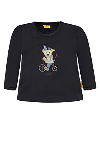 Steiff Steiff Baby-Jungen T-Shirt 1/1 Arm Langarmshirt, Blau (Marine Blue 3032), 62