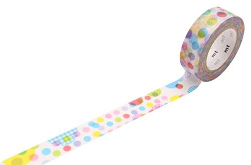 MT Masking Tape MT ex Ruban adhésif de masquage sur papier Washi Motif pois