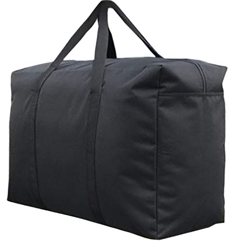 Large Capacity Thick Storage Bag Waterproof Sturdy 1680D Oxford Fabric Durable Organizer Bags Household Closet Space Saver Bag Ideal For Bedding, Duvets, Pillows, Clothes, Moving home or Travel