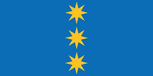 magFlags Bandera XL Stopi?u novads | Stopi?i Municipality, Latvia | Bezirks Stopi?i, Lettland | Stopi?u novada karogs | ???? ???????????? ???? | Bandera Paisaje | 2.16m² | 100x200cm