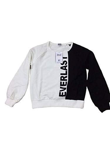Everlast 23W762F15 - Sudadera para mujer Black/White L