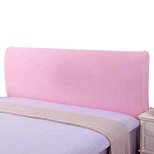 ZWDM Headboards Cover Backrest Cover Nordic Style All-Inclusive Headboards for Beds Cover Protective Wood Leather Bed (Color : Purple, Size : 140-160x60x30cm)