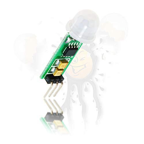 PIR HC-SR505 Mini Infrarot Sensor Bewegungssensor Modul Bewegungsmelder für Arduino ESP8266