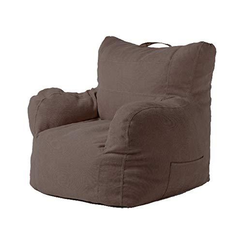 80 * 78 * 63Cm Bean Bag Covers Ohne Füllung Fauler Sofabezug Aus Weichem Baumwollmaterial Mit Seitentaschen Weich Und Bequem