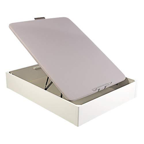 Pikolin - Canapé abatible al suelo, medidas 150x182 cm, color blanco