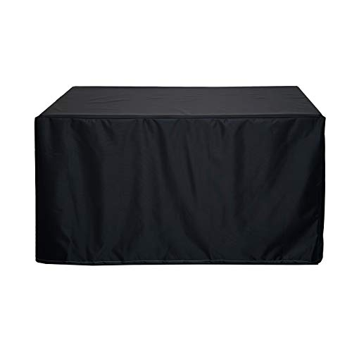 XYXH Fundas Impermeables para Muebles De Jardin 190x125x80cm, Funda para Muebles De Jardín Exterior, Funda Mesa Jardin Rectangular, 420D Paño Oxford Resistente Al Desgarro