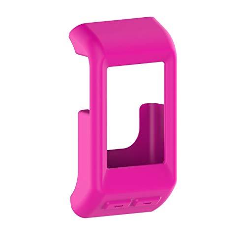 YGM AYDD para Garmin VIVOACTUS HR Funda Protectora de Silicona (Color : Pink)