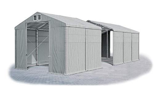 Das Company La Tienda de campaña ignífuga Winter Plus FR, Color Gris, tamaño 4x16x3,5 m, 693.95