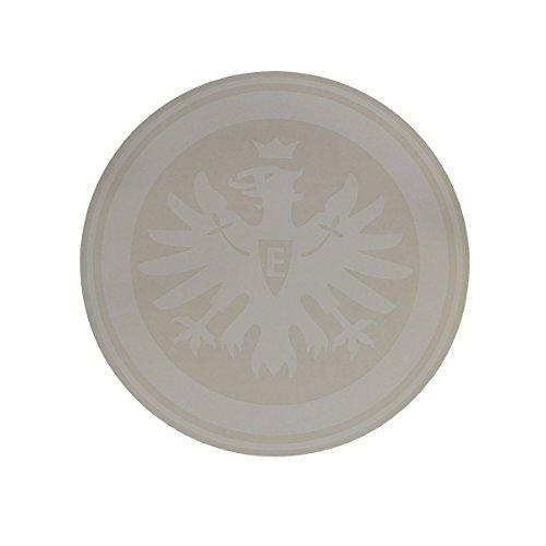 Eintracht Frankfurt Aufkleber, Sticker, Autoaufkleber Logo weiß - Plus Lesezeichen I Love Frankfurt