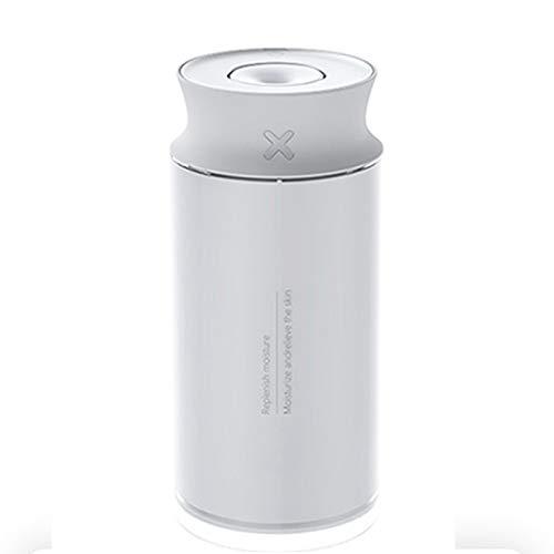 QQB Humidificador, luz cálida de Tres etapas, 400 ml de Gran Capacidad, Anti-Secado Regular, hogar, Oficina, purificador de Aire