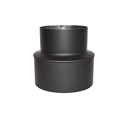 Wolfpack 22010041/Lot de 2 colliers vitrifi/és pour tube de po/êle avec support 120/mm