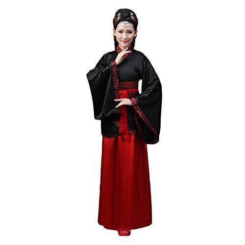 Haodasi Uralt Chinesischer Stil Hanfu Traditionell Tang Anzug Prinzessin Chaise Kleid Performance Cosplay Kostüm für Damen