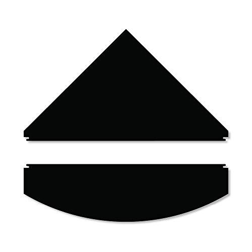 iQuatics Universal/Juwel kompatible Ersatzklappen Set ohne Skimmer/Feederlöcher, Trigon 190