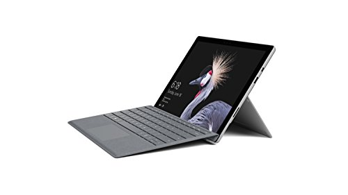 Surface Pro (5th Gen) (Intel Core m3, 4GB, 128GB SSD) with Surface Signature Type Cover – Platinum