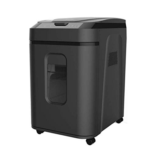 Affordable GYP Shredders Power Secret Work Time Single Office Electronic Long Plastic (Color : Black...