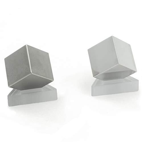 Tungsten & Aluminum Cube Set - 1'